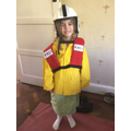 Lifeboat dress up!