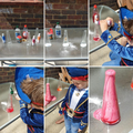 Science experiments dressed as a pirate!