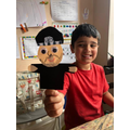 A puppet!