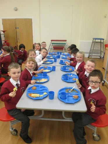 Lots of hungry children today!
