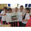 Our class book 'The Pirates Next Door'.