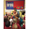 We asked Mrs.Gohil lots of interesting questions.