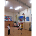 Look at our great climbing skills!