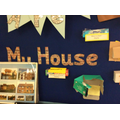 Reception have been learning about where they live and the houses they live in.