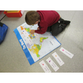 Even though we are now in Year 2 we still remembered the 7 continents.
