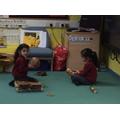 Exploring instruments.