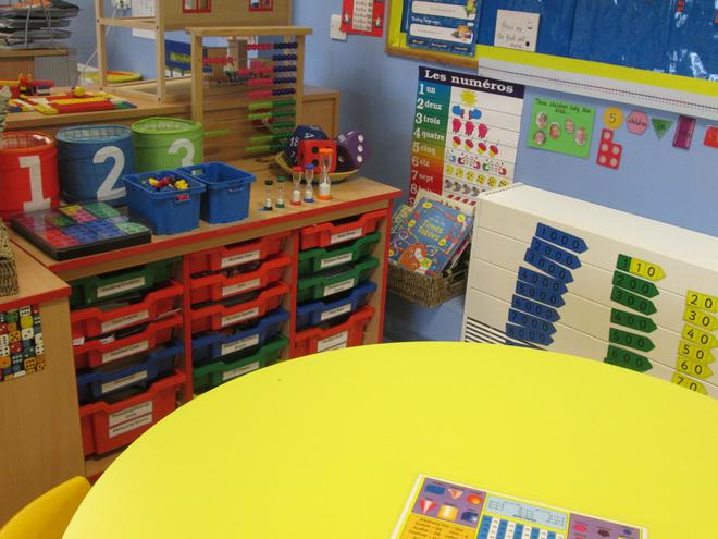 Our Maths Area.