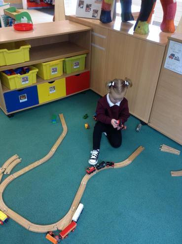 Making a train track