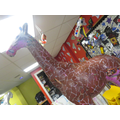 We are making our own 3D giraffe.