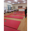 Year 2 have had a great time learning gymnastics with Coach Sam