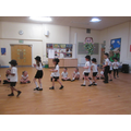 We learnt 5 different Latin dances too!