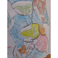 A Year 1 piece of work making a jigsaw of the 7 continents.