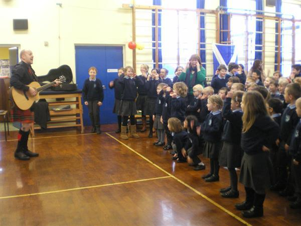 Singing in Ulster Scots!