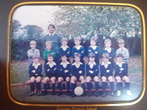 Football with Mr Millar 1985/86
