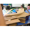P6 and 7 had a great time making bridges