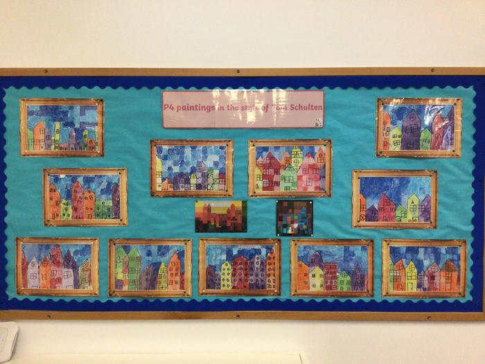 Our finished display!