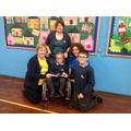 Cheque presentation to Shine Charity