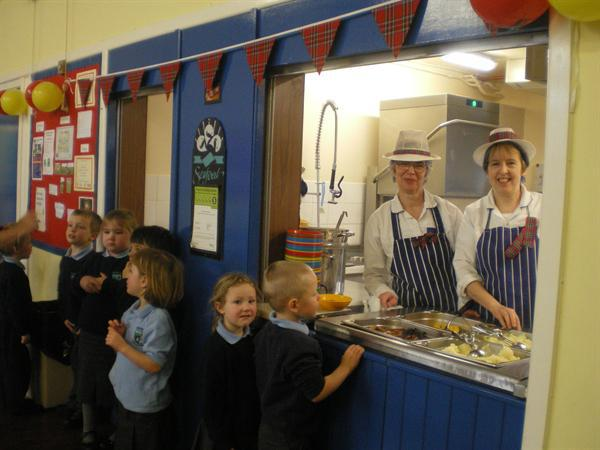 Our super Burns lunch - thank you!