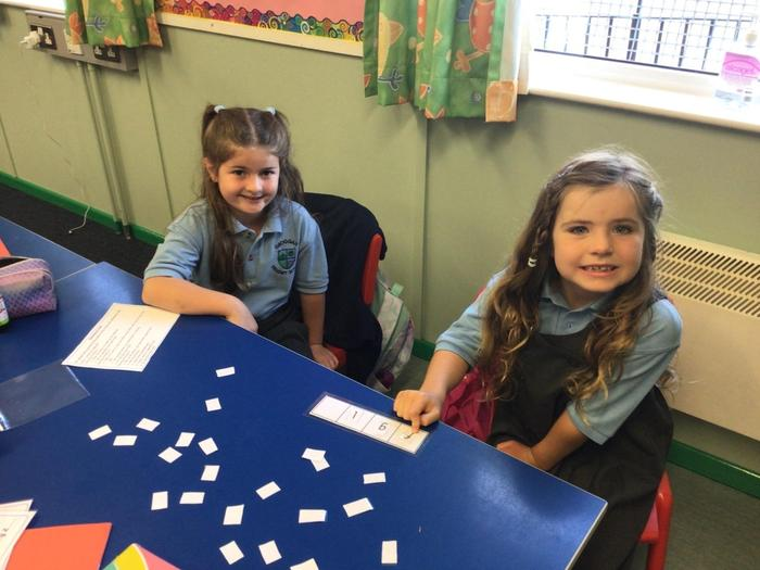 Ordering the letters of the alphabet.