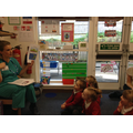 A visit from a dental nurse