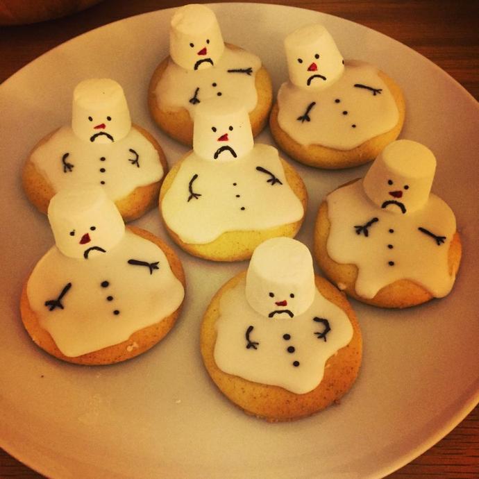 Mrs Holland's Melted Snowmen