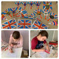 Getting  ready for VE day