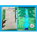 Maia's rainforest information and front cover!