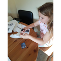 Making a sphinx and mummy