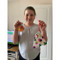 Jess has been busy sewing too