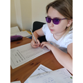 Working hard on times tables