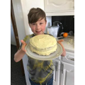 Great British Bake Off Orange Cake - yummy!