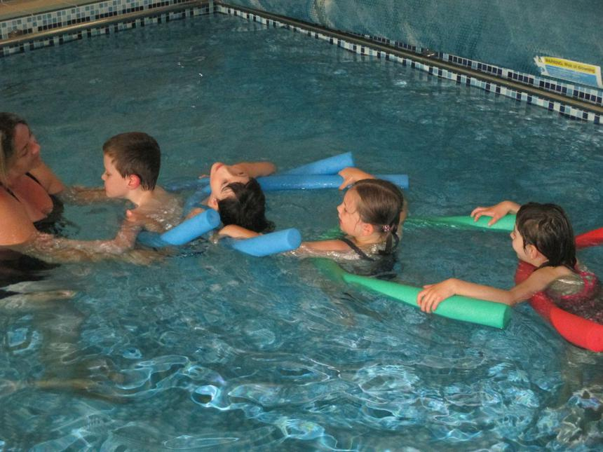 Developing water confidence and learning to swim