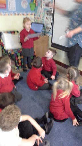Bluebell class we chose our favourite four animals