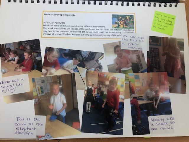 KS1 class book
