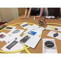 Children looked at appliances grouping in different ways.