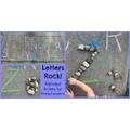 Letters rock