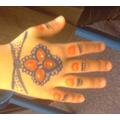 HINDU HAND PAINTING