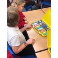 Children in Year 3/4 played in ostinato using the glockenspiel