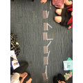 Children ordered the angles that they made.