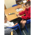 Children spent their first lesson problem solving and exploring circuits.
