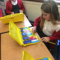 Children learnt to play ostinato on the glockenspiel.