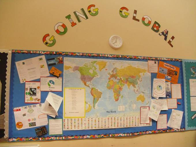 The current display in our Year 6 class.