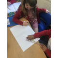 Children drew a variety of angles and challenged their partner to order them.