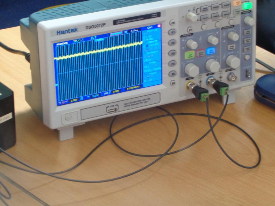Measuring sound.