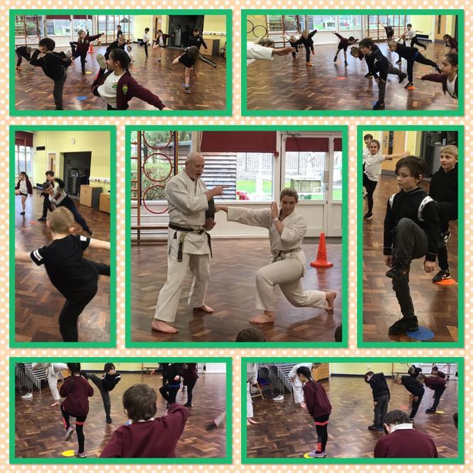 P.E. Enrichment Day March 2020 Karate