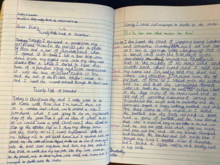 Aaron' Diary