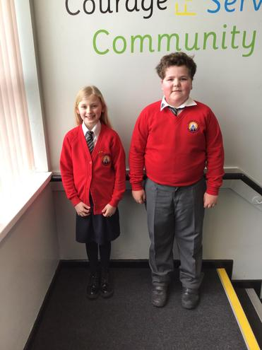 Our new Head Boy and Head Girl 🌟