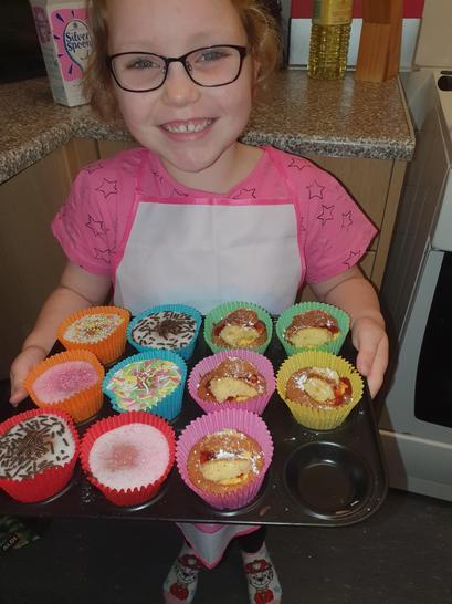 Ellie is an amazing baker!