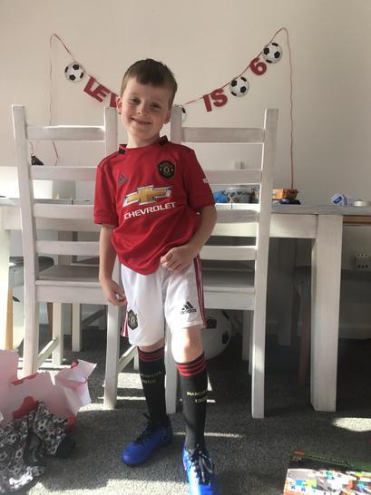 Lewis had a football-tastic 6th birthday!