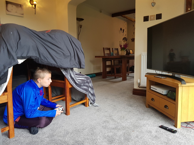 Glamping with technology!